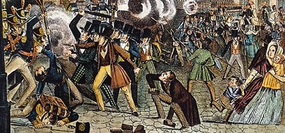 anti-Irish riots, 1844