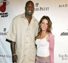 Glen Rice and wife Christina