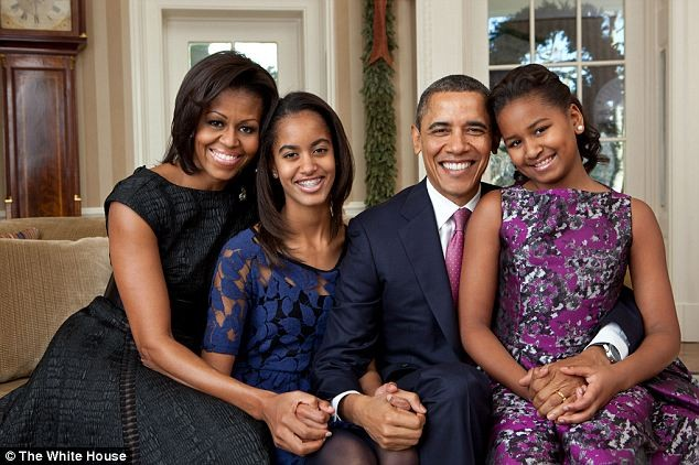 Obama Family Official Portrait